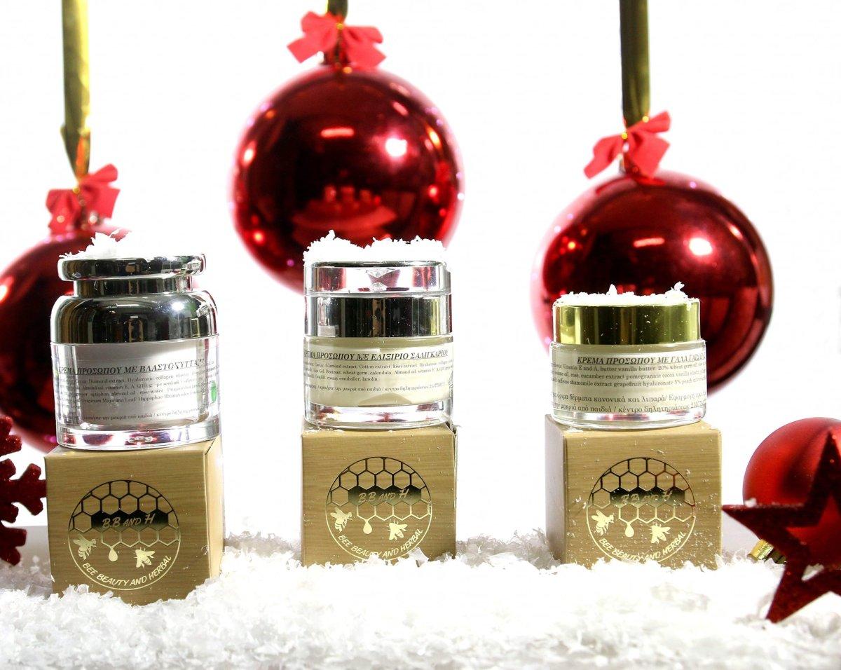 Φέτος τα Χριστούγεννα επιλέγουμε... Bee Beauty & Herbal